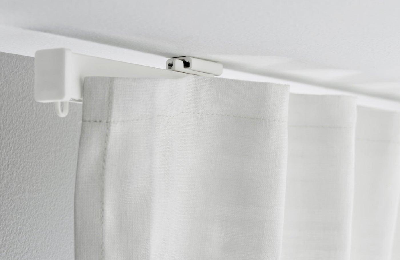 Ikea Vidga Halter Fur Schiebegardine 60cm Weiss Laufleiste