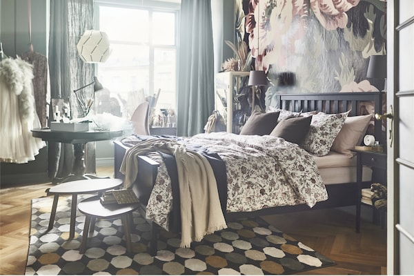 bett teppich best grohandel baumwolle leinen bett teppich woven matte badezimmer wohnzimmer. Black Bedroom Furniture Sets. Home Design Ideas