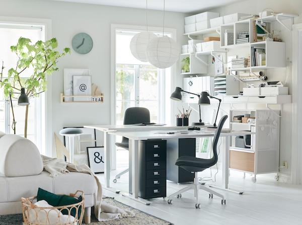 Arbeitsplatz Buro Inspirationen Ikea