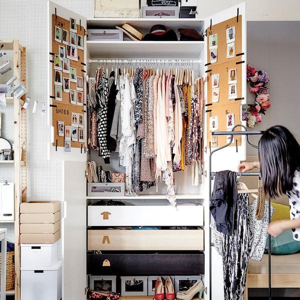 Ratgeber Mehr Ordnung Im Kleiderschrank Tipps Tricks