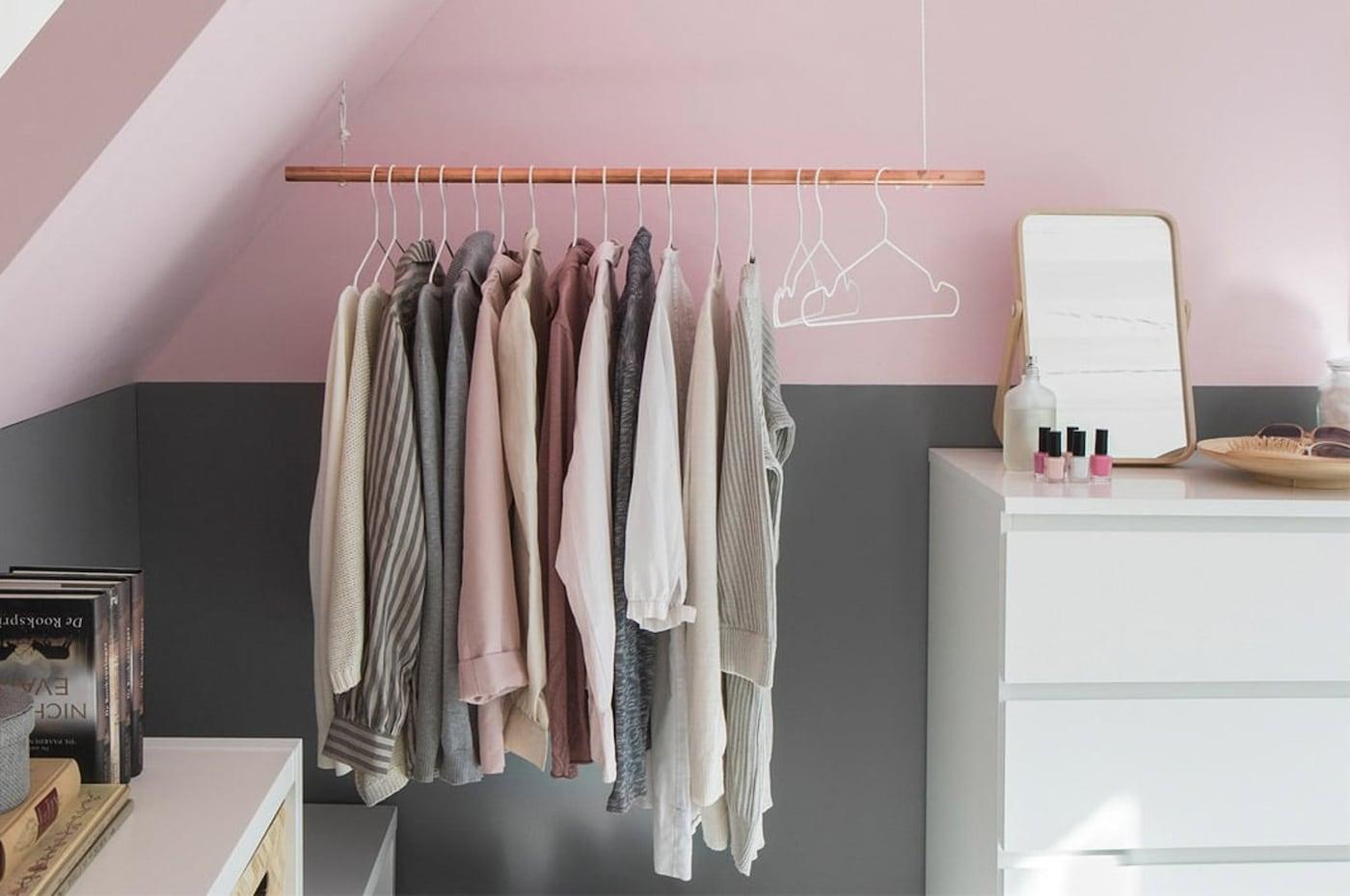 Nieuw Schuin dak? Maak een inloopkast - IKEA GL-88