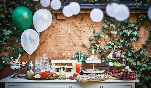 Schwedische Festessen: Schwedenbuffet (Smörgåsbord)