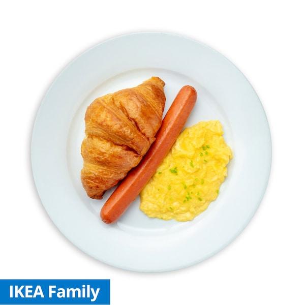 Scramble Egg Croissant