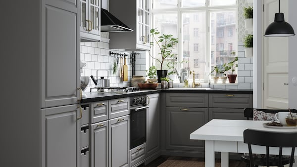 Se alle valgmulighederne til dit METOD køkken.