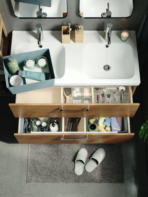 Se hele galleriet med smarte løsninger til baderommet.