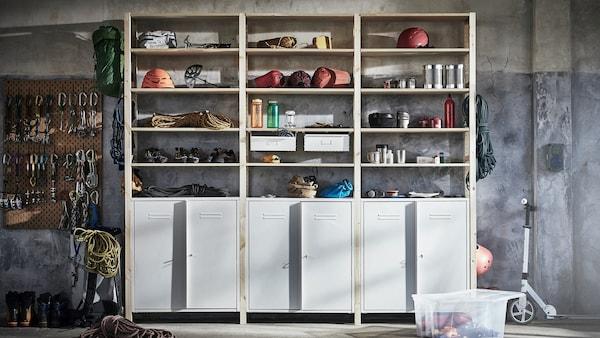 Se hele galleriet med smarte løsninger til din garasje og bod.