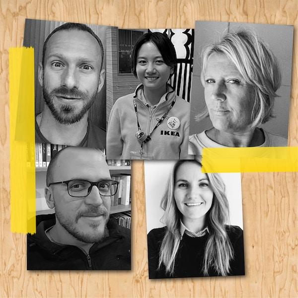 Se IKEA-medarbeidere fra hele verden dele sine personlige tips om hjemmeinnredning.
