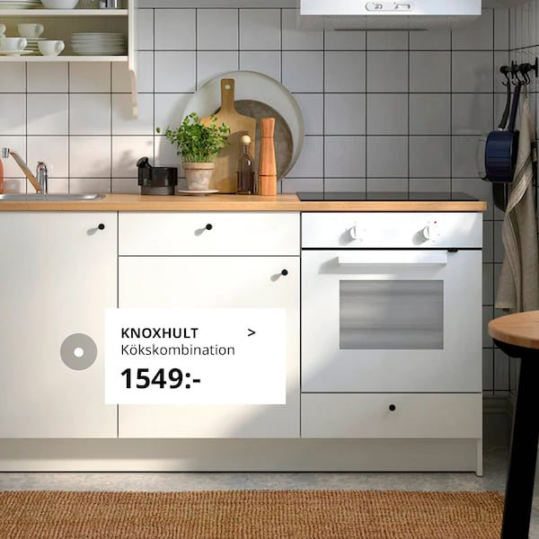 Se våra enkla och funktionella KNOXHULT kök.