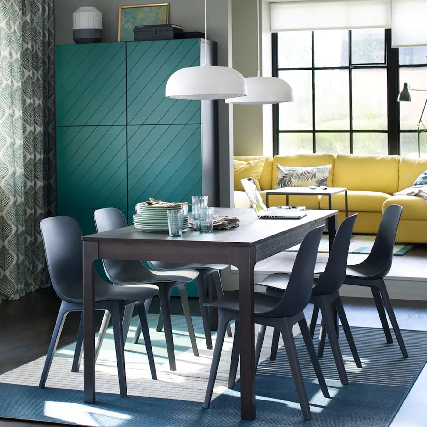 Stühle Mit Stil Und Praktischer Ausziehtisch IKEA