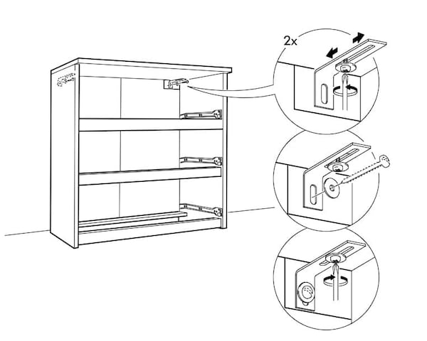 Secure IT for MALM drawer