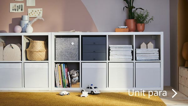 See the KALLAX shelving unit and more in Display cabinets.