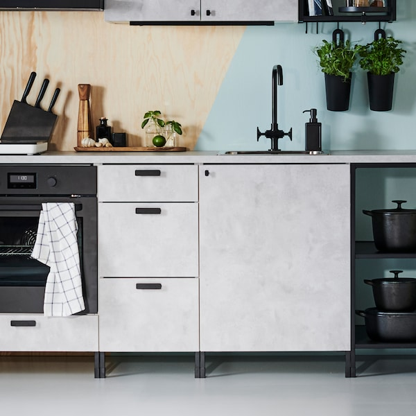 See the many possibilities of ENHET kitchens.