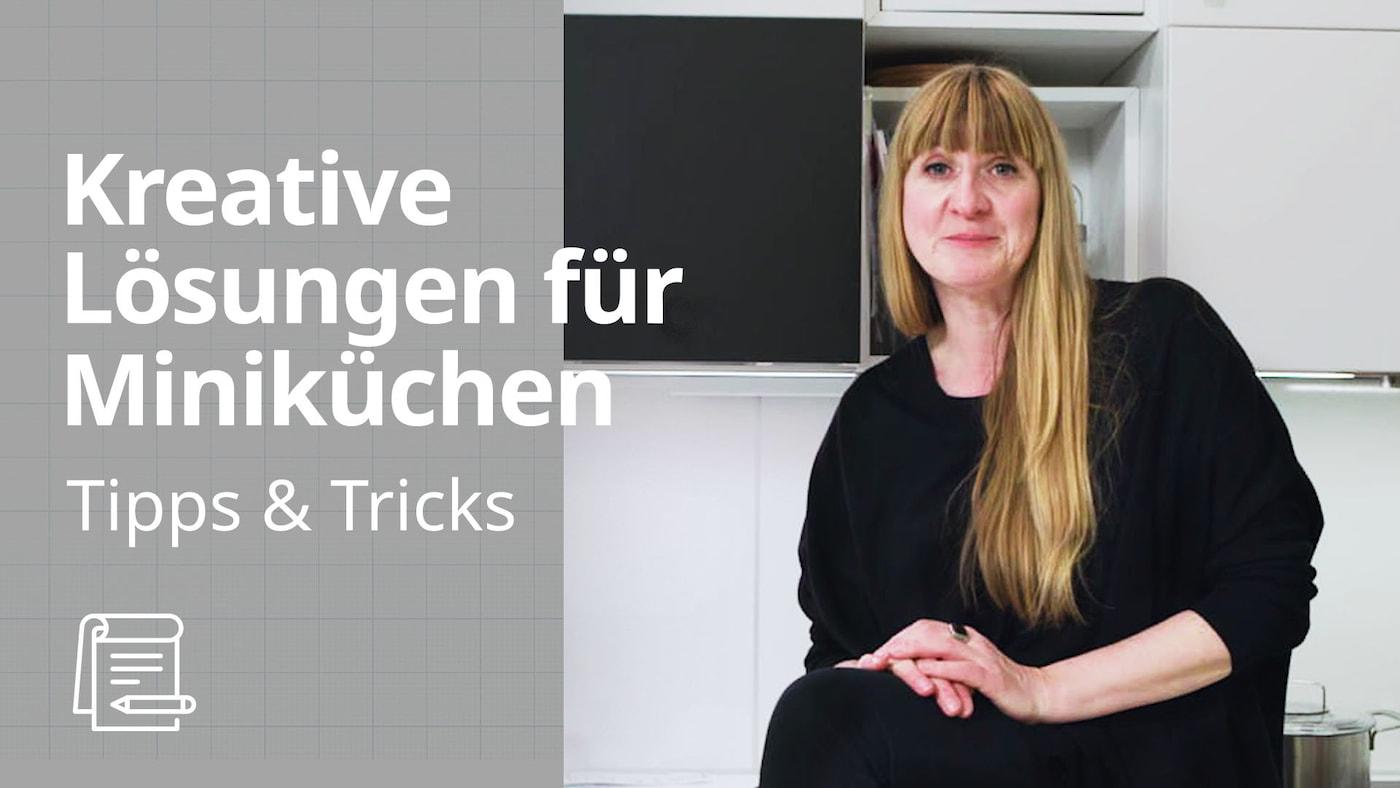 Sehr kleine Küche einrichten | IKEA Tipps & Tricks