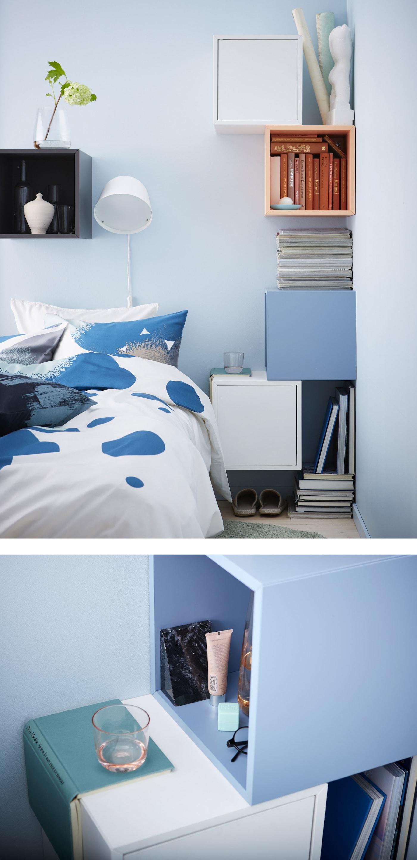 Ideer Til At Lave Dit Eget Sengebord Ikea