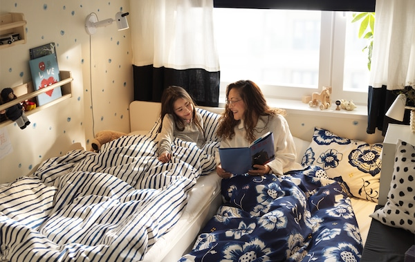 Alami Manfaat Bilik Tidur Keluarga Yang Dikongsi Ikea