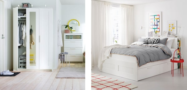 Серия мебели БРИМНЭС для спальни