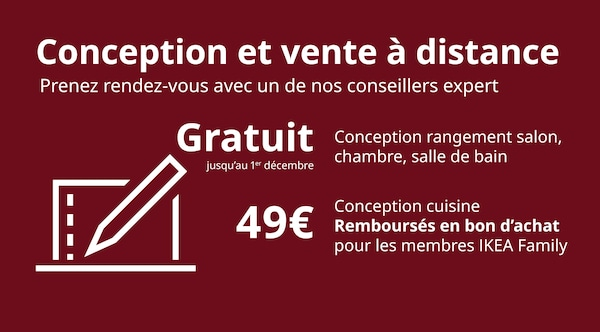 Service conception et vente à distance