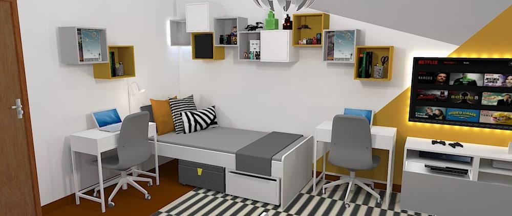 Serviço de Design de interiores para quartos