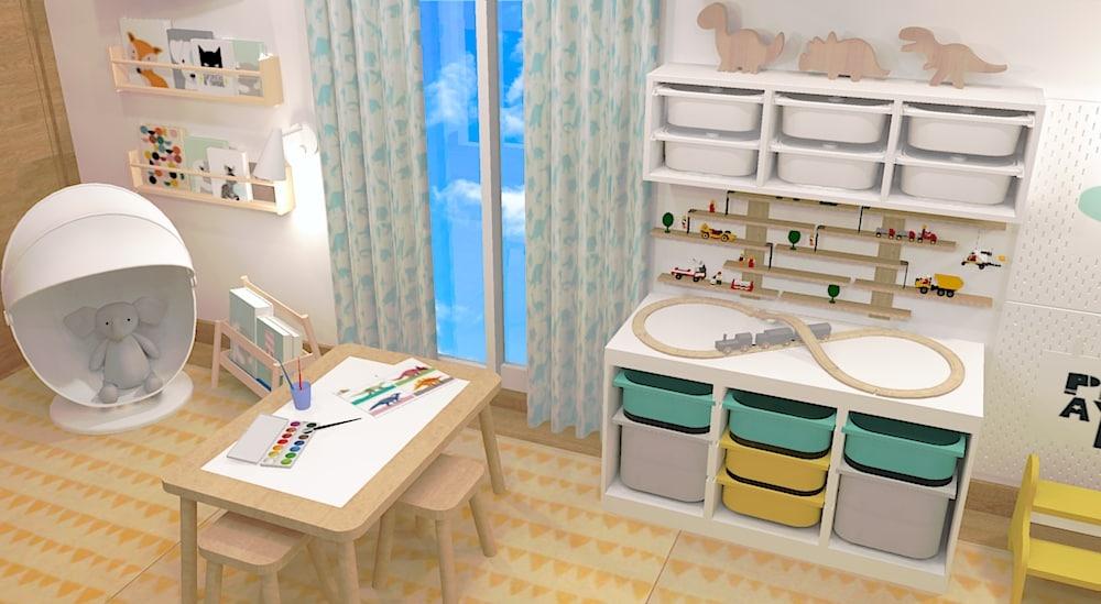 Serviço de Design de interiores para quartos de crianças