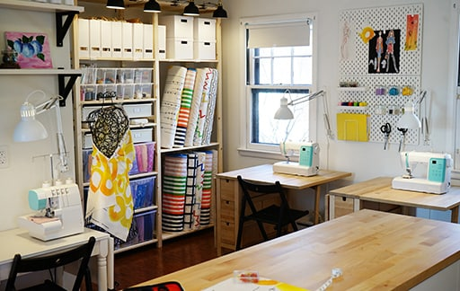 Rattan Sofa Garden Furniture, The Sewing Studio Home Tour Squad Ikea
