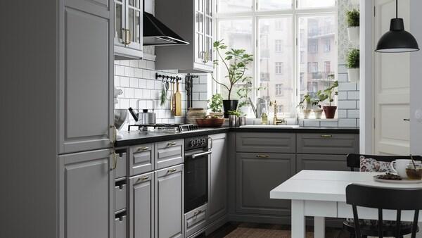 صفحة معرض واجهات المطبخ.