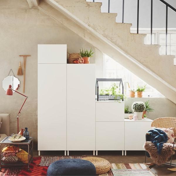 Sfrutta al meglio il tuo spazio con PLATSA, un sistema componibile flessibile che ti permette di combinare le strutture come preferisci - IKEA