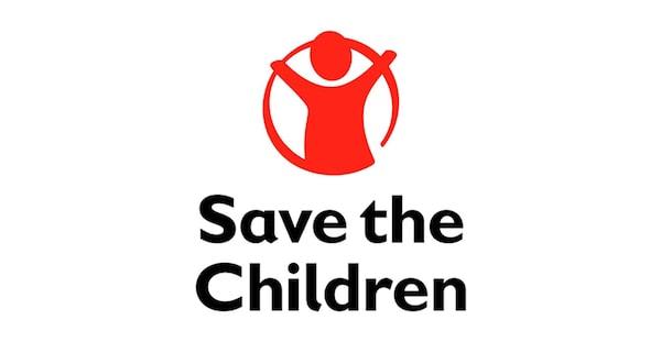 شعار منظمة أنقذوا الأطفال.