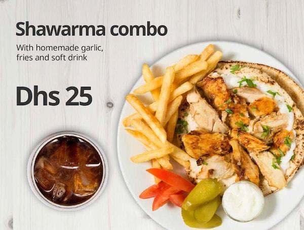 Shawarma combo