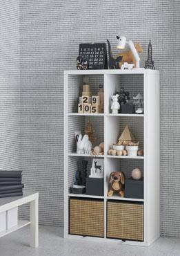 "Shelf unit, white, 30 3/8x57 7/8 "" (77x147 cm)"