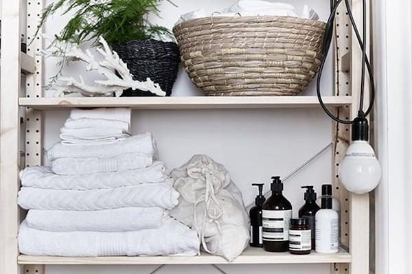 Shelving unit- cleaning-IKEA living inspiration