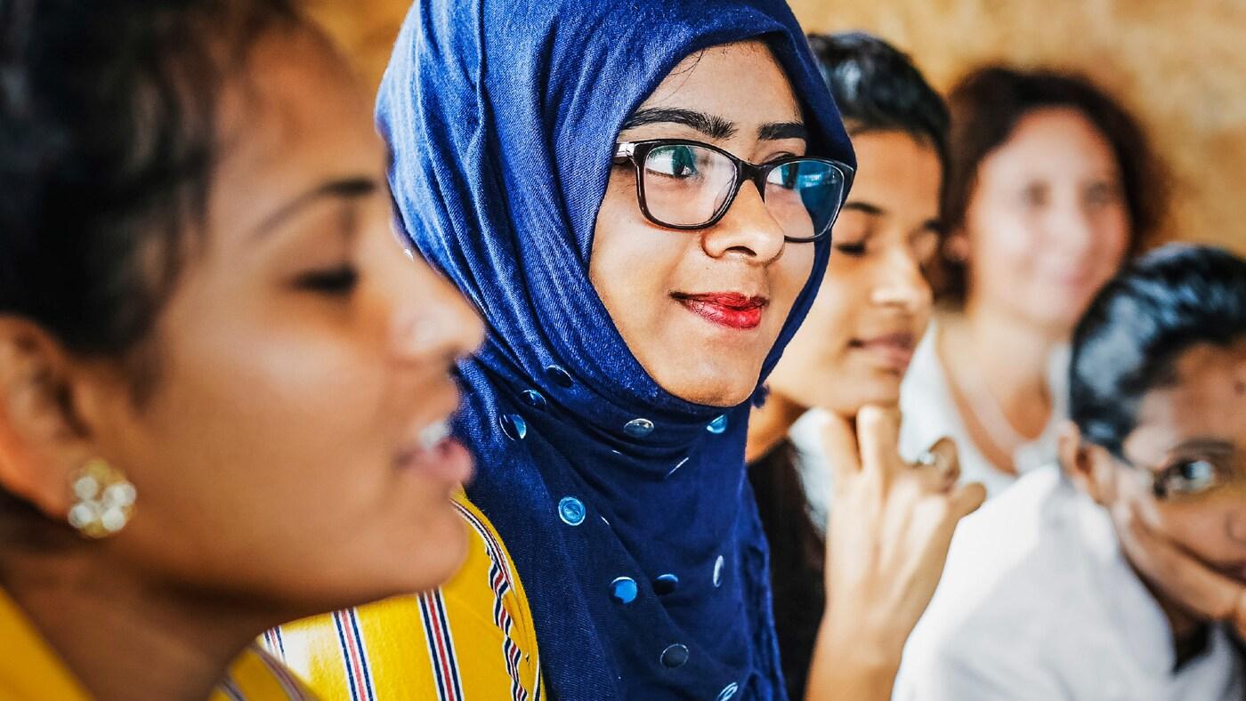 Shireen Begum, Mitarbeiterin bei IKEA Indien, ist eine von vielen Frauen, die die eingestaubten Geschlechterrollen des Landes infrage stellen.