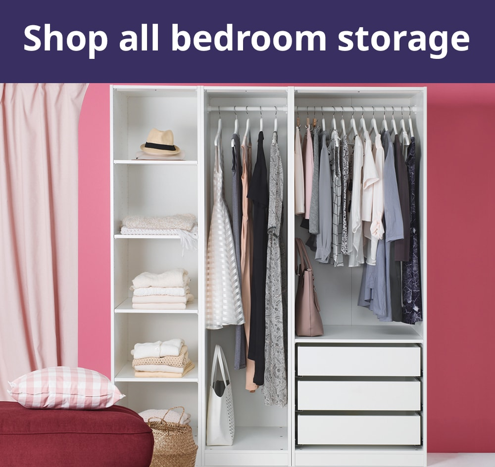 Pull Out Like a Drawer Plastic White Wardrobe Shelves Closet Organiser Box Suitable for Home Bedroom Set of 4 Stackable Wardrobe Storage Box Organizer Kitchen