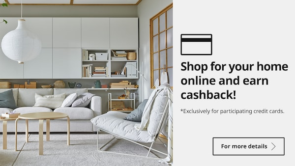 Shop online and get cashback!