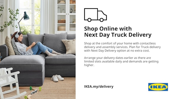 Shop online with next day Truck Delivery
