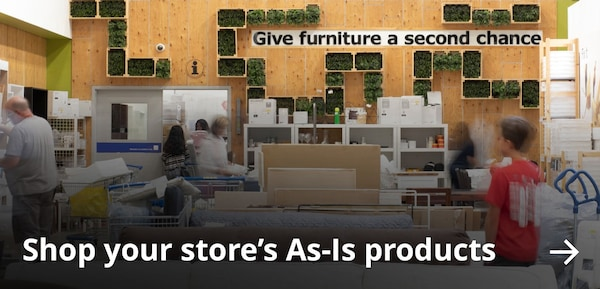 Shop your store's As-Is products.