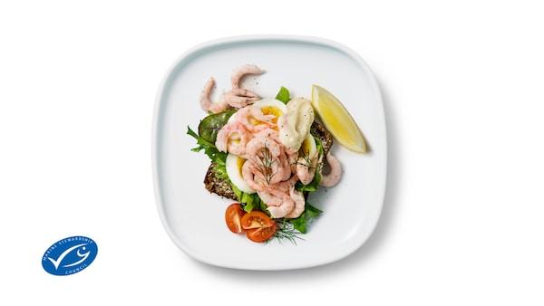 Shrimp Canapé