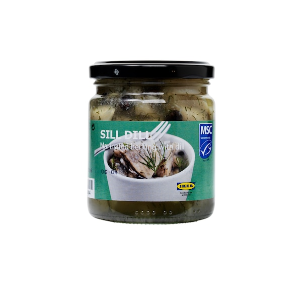 SILL DILL Marinated herring with dill