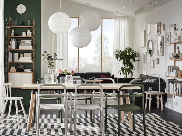 Decora tu comedor con un toque escandinavo - IKEA®