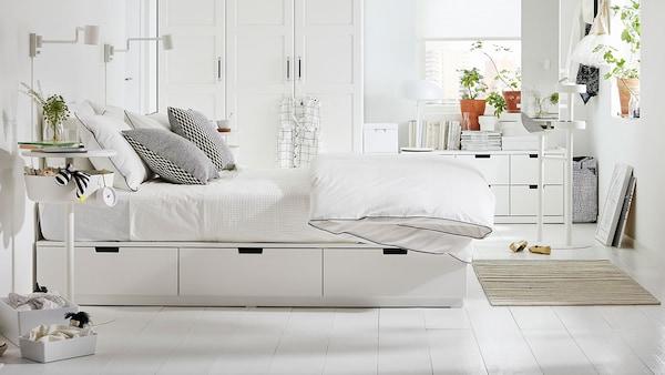 Dekorasi Bilik Tidur Kecil Ikea