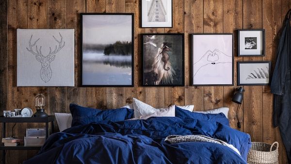 Six ideas for decorating walls.