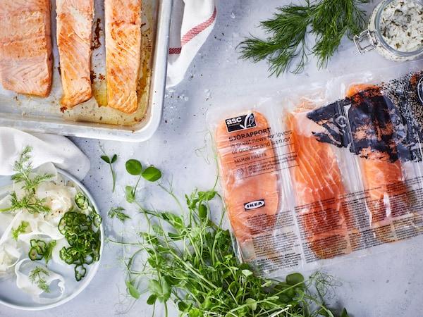 SJÖRAPPORT Salmon fillet 3x 500 g
