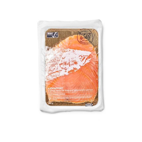 SJORAPPORT Cold Smoked Salmon