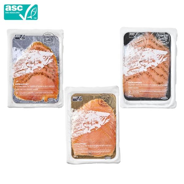 SJORAPPORT Frozen salmon