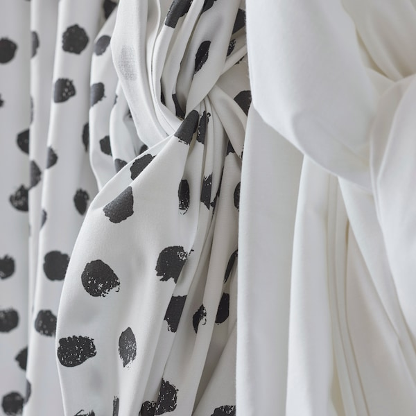 SKÄGGÖRT fabric is made from 100% more sustainable cotton.