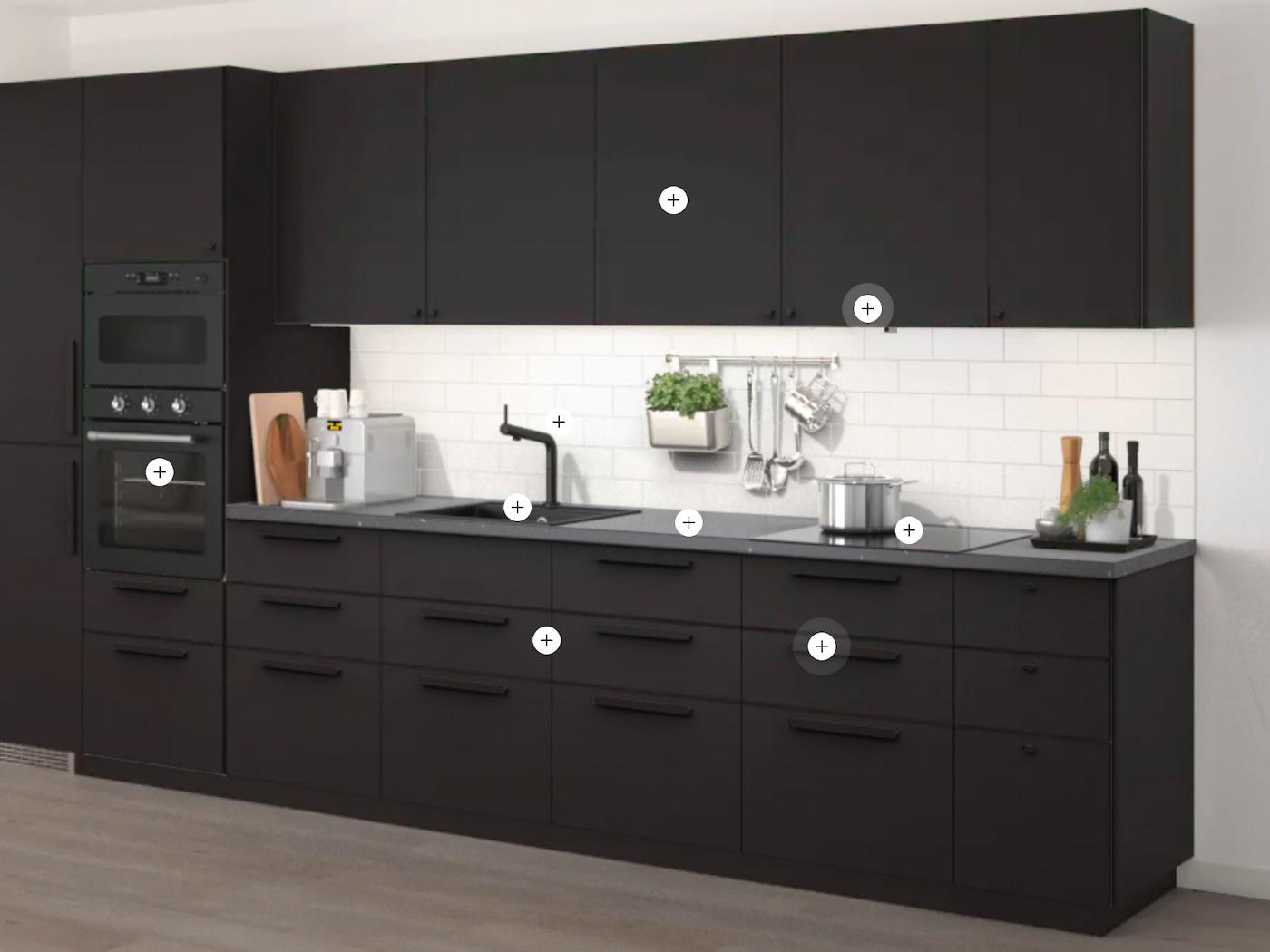 Skärmavbildning av verktyget Interaktiva kök.