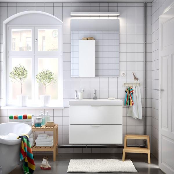 Badezimmer im skandinavischen Stil - IKEA