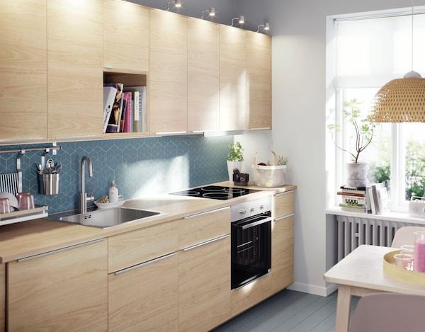 кухни из икеа фото