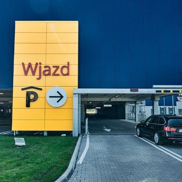 Skorzystaj z darmowego parkingu podczas zakupów w IKEA Szczecin
