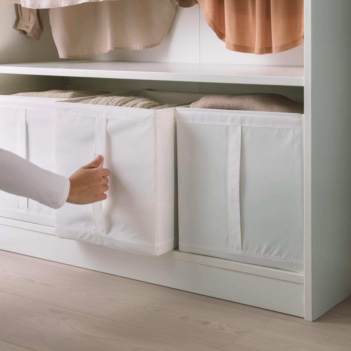 SKUBB Box in einem PAX Schrank