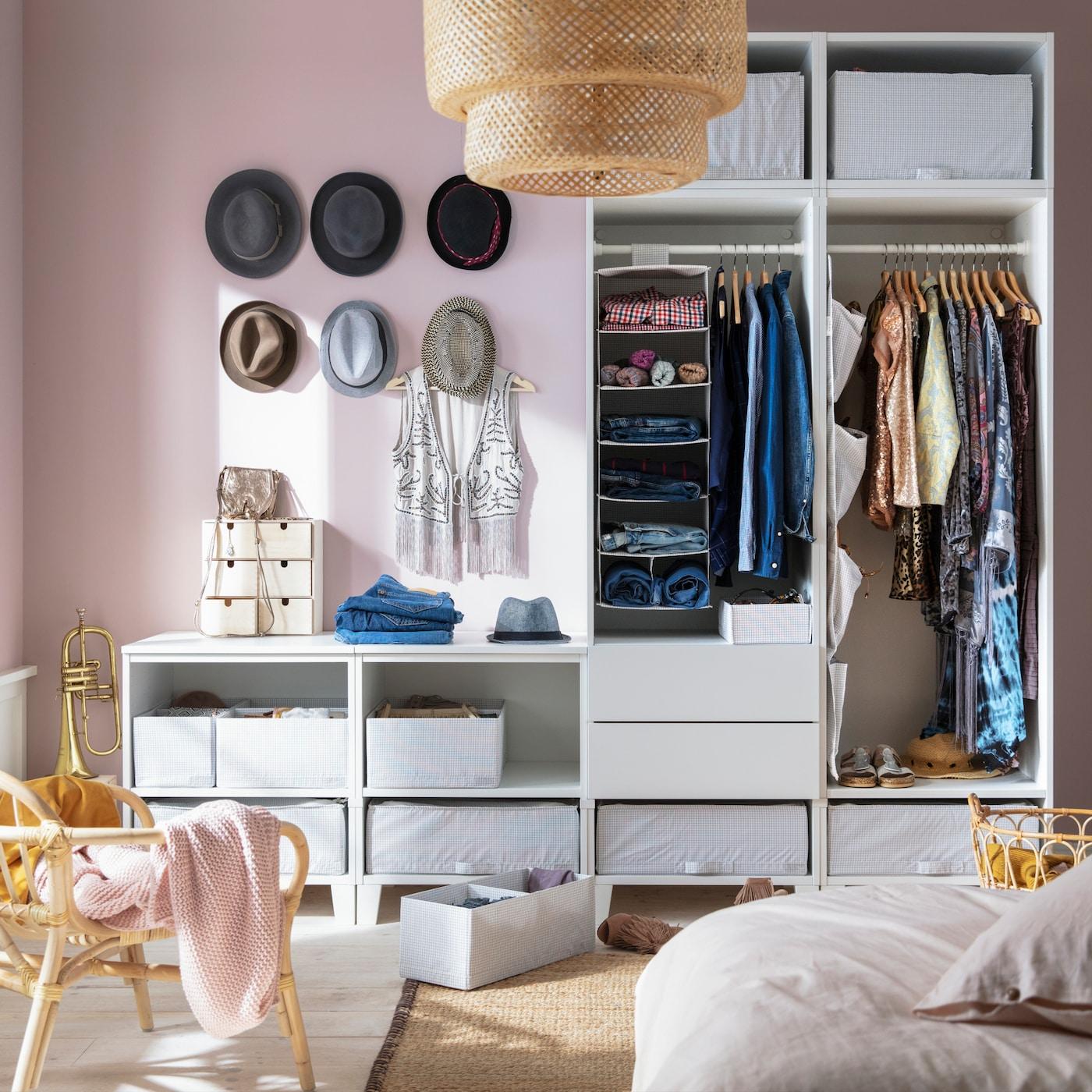 SKUBB und STUK Aufbewahrungssysteme für deinen Kleiderkasten